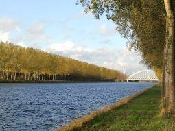 Amsterdam Rijnkanaal bij Weesp Foto door dokter H.B. Burggraaff