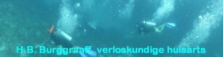 Front Dokter Burggraaff duikt in Bonaire 2014