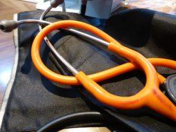 De stethoscoop van dokter Burggraaff