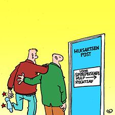 Naar de huisartsenpost