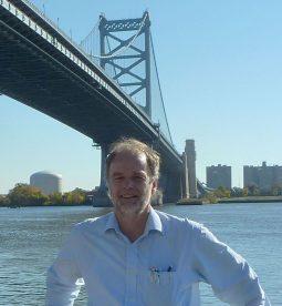 Hans Burggraaff, huisarts uit Weesp bezoekt Philadelphia