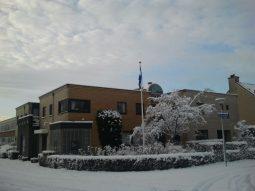 Huisartspraktijk Burggraaff in de sneeuw 1
