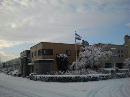 Huisartspraktijk Burggraaff in de sneeuw 5
